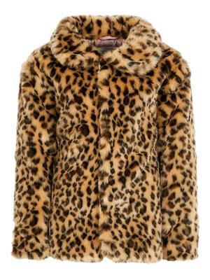 Name It Leopard Jacket - Turkish Coffie