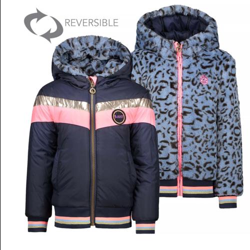 B.Nosy Girls - Reversible jacket with fur