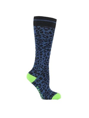 B.Nosy Girls - Socks with panther - Blue