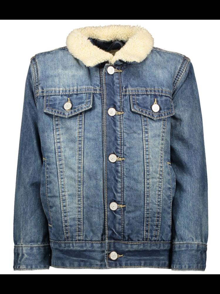 B.Nosy Boys - Teddy lining jacket - Blue