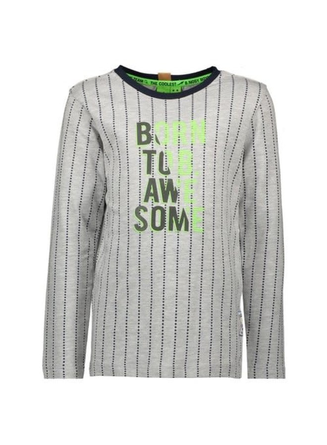 Boys - Longsleeve shirt with vertical dotted stripes