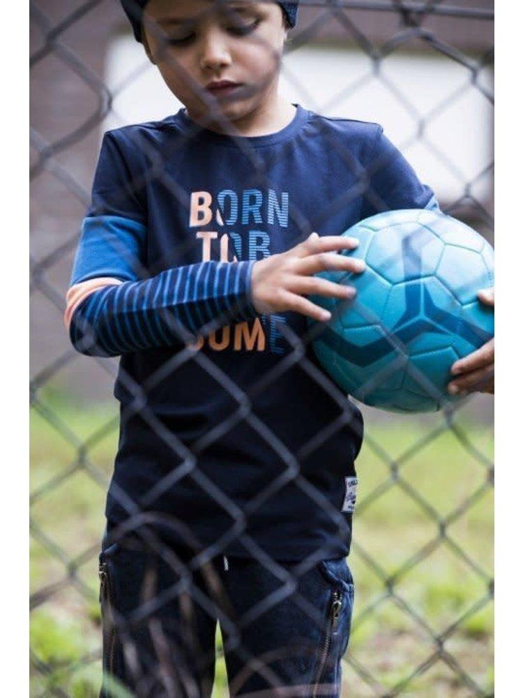 B.Nosy Boys - Longsleeve shirt color block with YD stripe sleeves
