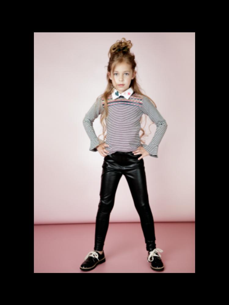 Little Miss Juliette Long sleeve - Stripe 2
