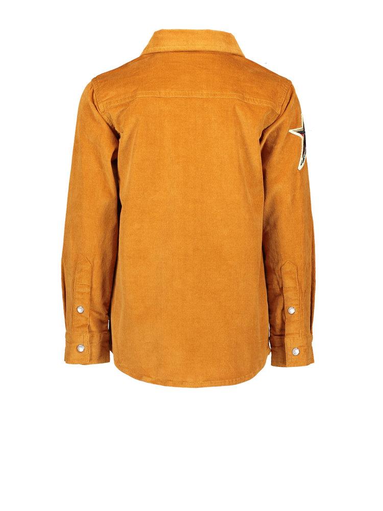 Like Flo Flo boys rib cord blouse - Cognac