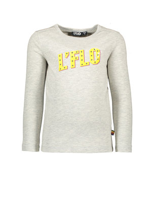 Like Flo Flo boys jersey long sleeve tee- Grey melee