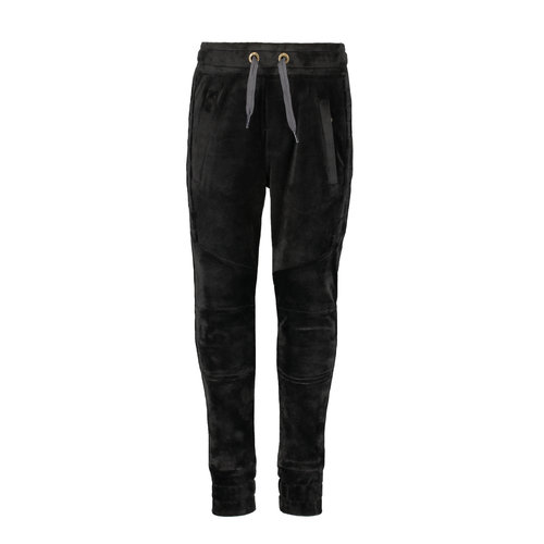 Like Flo Flo boys velvet pants - Black