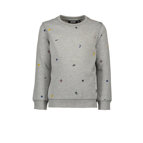 Like Flo Flo boys sweater divers - Grey melee