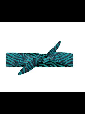 B.Nosy Girls - Glitter zebra hairband - Lagoon