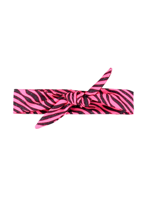 B.Nosy Girls - Glitter zebra hairband - Pink