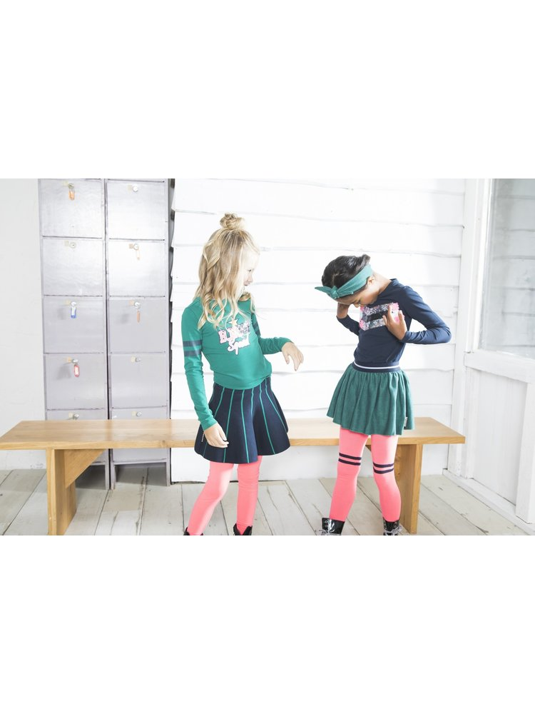 B.Nosy Girls - Pied de poule skirt - Emerald