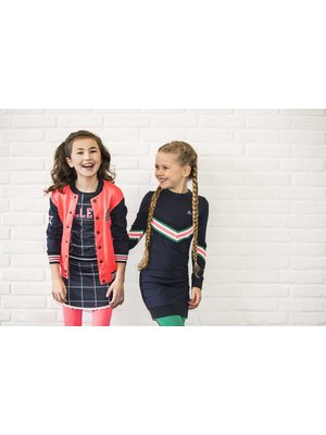 B.Nosy Girls - Dress with knitted knit - Ink Blue