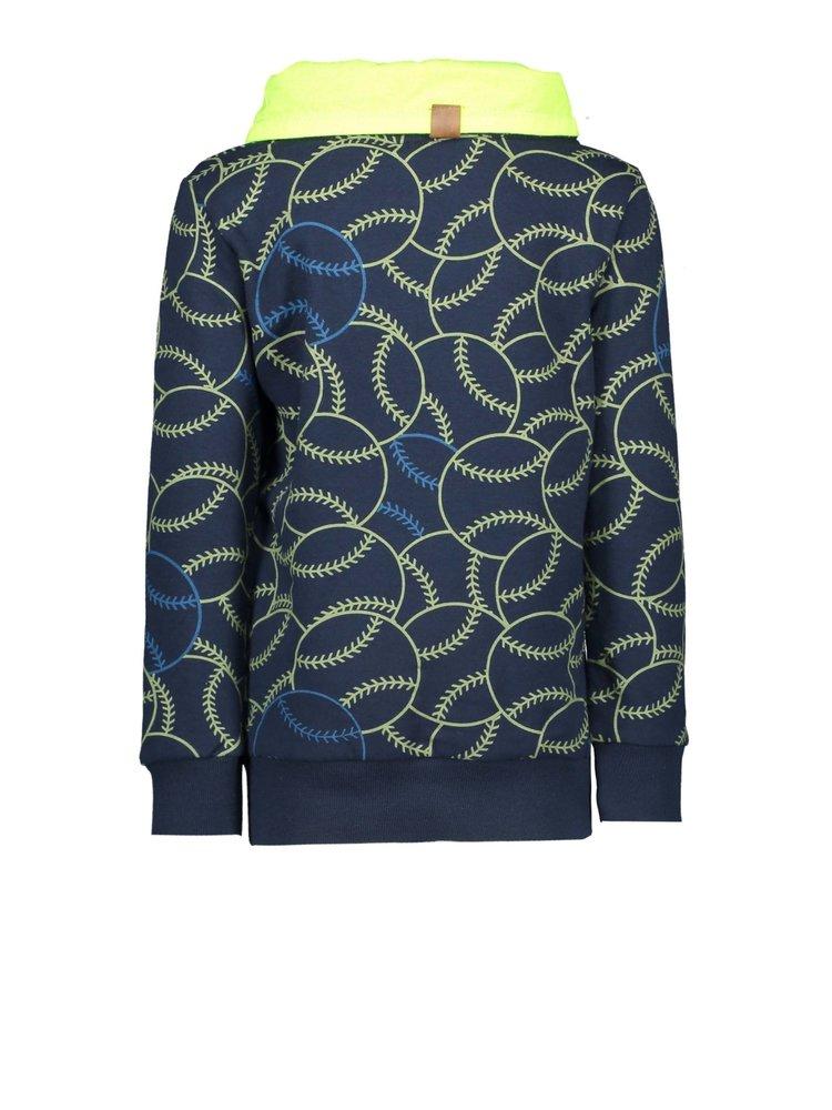 B.Nosy Boys - Sweater with collar - Playfield