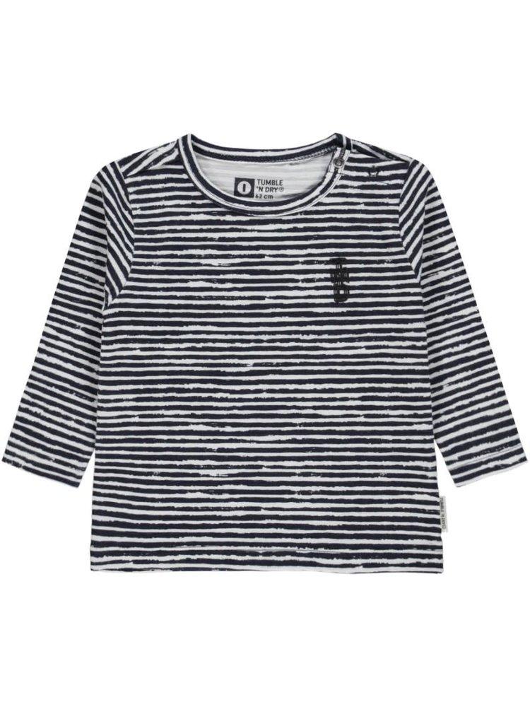 Tumble 'n Dry Quenso - Boy - T-shirt ls - Blue Dark