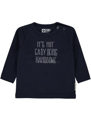 Tumble 'n Dry Querijn - Boy - T-shirt ls - Blue Dark