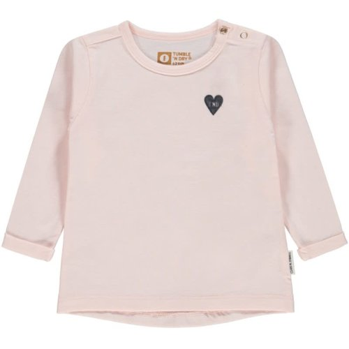 Tumble 'n Dry Quella - Girl - T-shirt ls - Pink Light