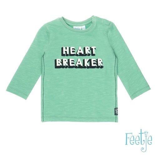 Feetje Longsleeve Heart Breaker - Tuning Vibes - Mint