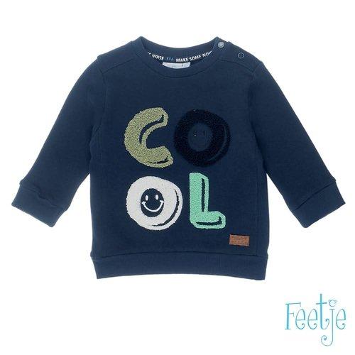 Feetje Sweater COOL - Tuning Vibes - Marine