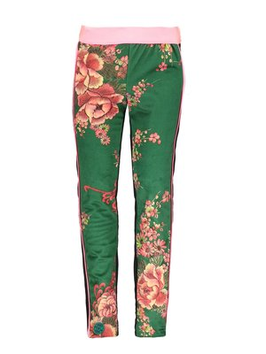 B.Nosy Girls - Legging printed velours - Flower green