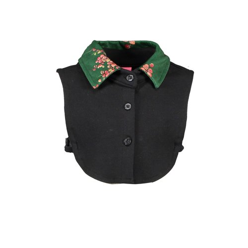 B.Nosy Girls - Collar with printed velours - Black