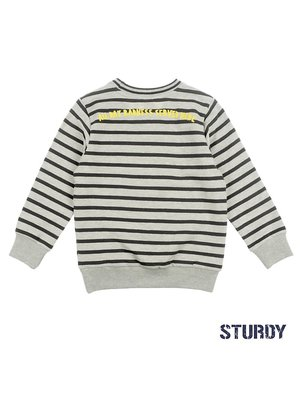Sturdy Sweater streep - Concrete Jungle