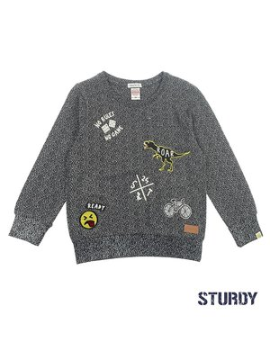 Sturdy Sweater Badges - Concrete Jungle