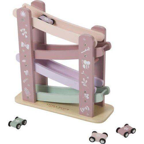 Little Dutch Autobaan hout - Pink
