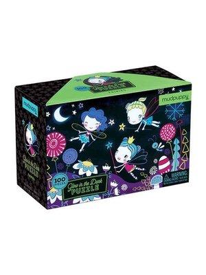 Mudpuppy Glow in de dark puzzel - Feeën