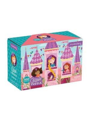 Mudpuppy Glitter puzzel - Prinsessen