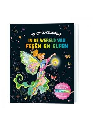 Lantaarn Publishers In de wereld van feeën en elfen - Krabbel-krasboek