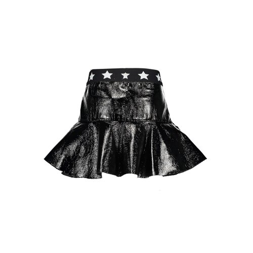 B.Nosy Girls - Skirt with ruffle - Black