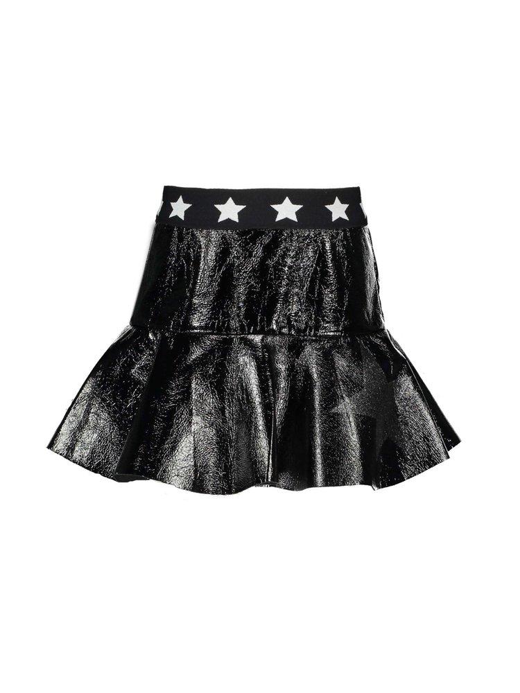 B.Nosy Girls - Skirt with ruffle - Black