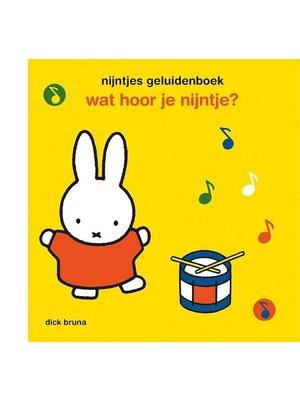 Querido Wat hoor je Nijntje (geluidenboek)