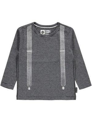 Tumble 'n Dry Sasha - Boys - T-shirt ls - Deep black