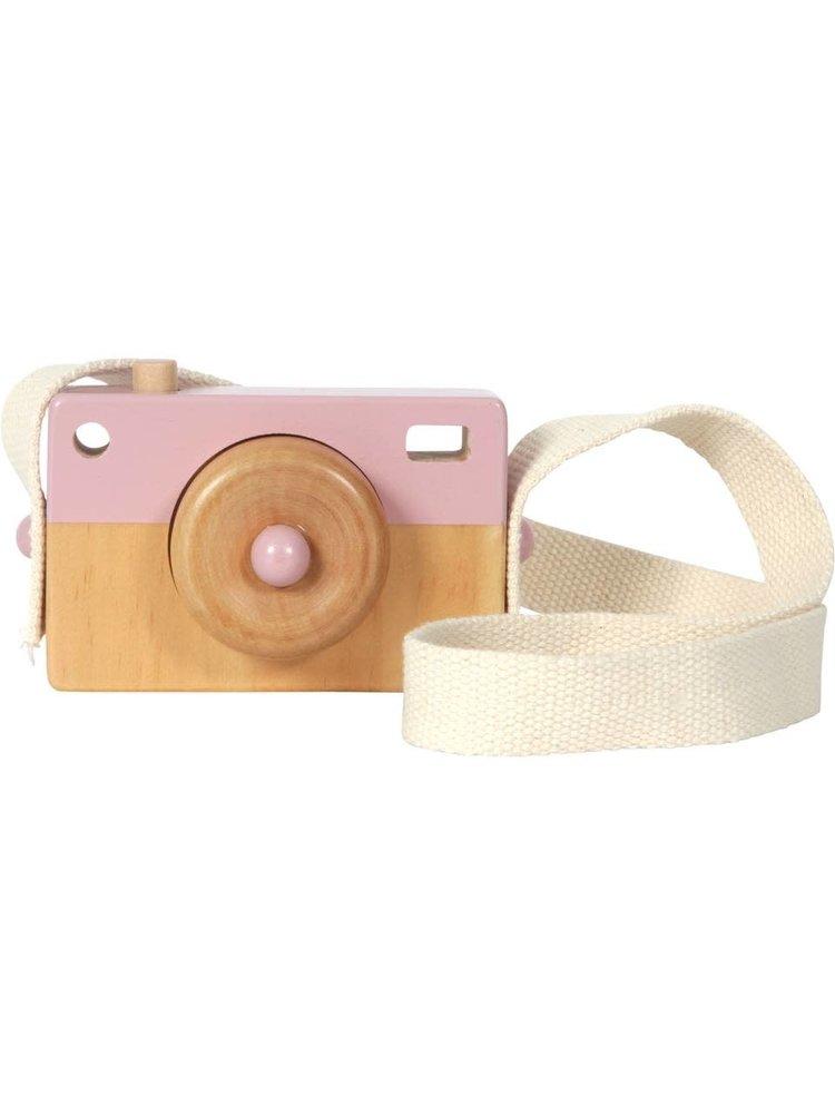 Little Dutch Camera hout - adventure pink