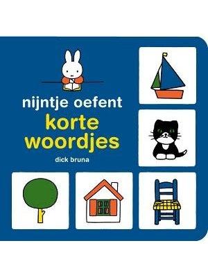 Querido Nijntje oefent korte woordjes (kartonboek)