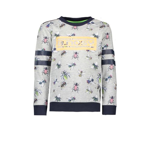 B.Nosy Boys sweater with fly ao and chest artwork