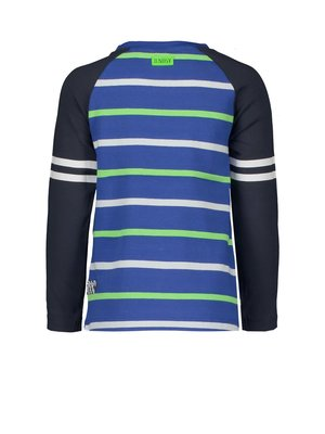 B.Nosy Boys raglan shirt with contrast sleeves, uni front panel and YDS back panel
