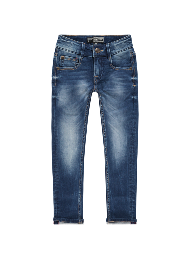 Jeans - Tokyo - Mid Blue Stone - Washed