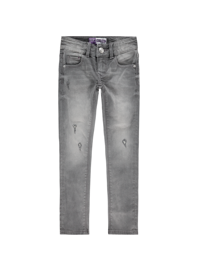 Jeans - Adelaide - Mid Grey Stone