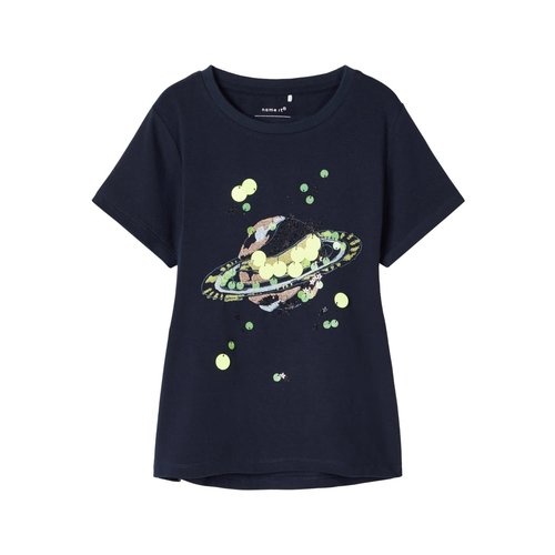 Name It Hibba ss Top - T-shirt - Dark Sapphire