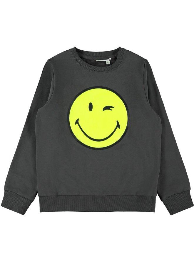 Happy Tiks Ls - Sweat - Asphalt