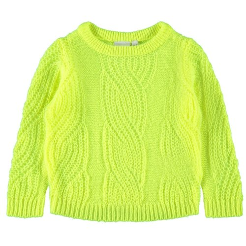 Name It Tulle Ls - Knit - Safety Yellow