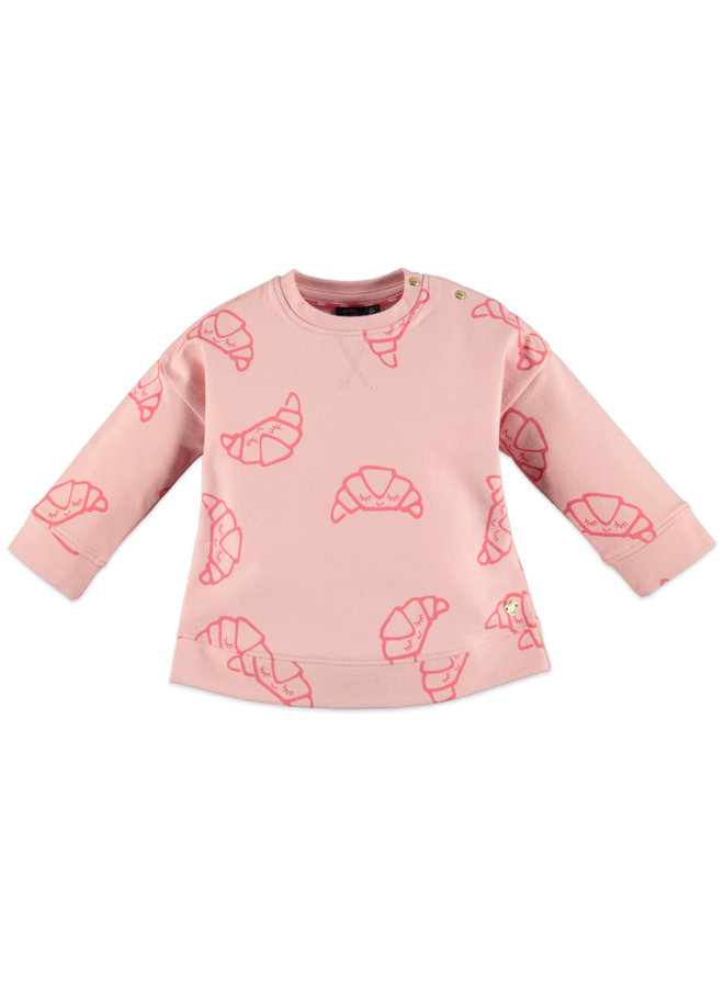 Sweatshirt - Paris Pink