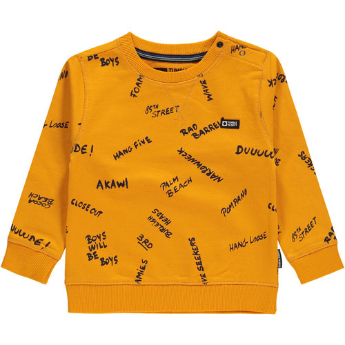Tumble 'n Dry Talbot - Boys - Sweat - Yellow