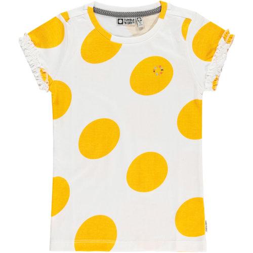 Tumble 'n Dry Lida - Girls - ss T-shirt - Paper White