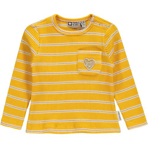 Tumble 'n Dry Moraya - Girls - Ls T-shirt - Old Gold