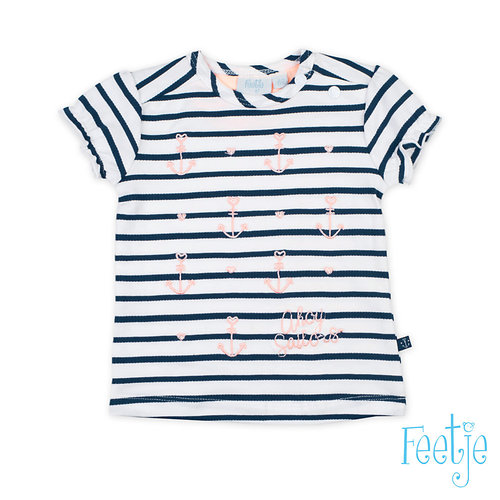 Feetje T-shirt streep - Sailor Girl