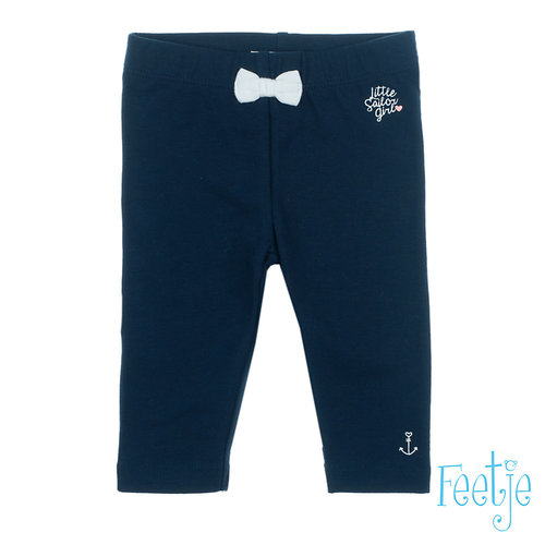 Feetje Legging - Sailor Girl - Marine