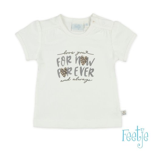 Feetje T-shirt For Now - Panther Perfect