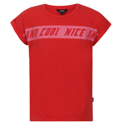 Little Miss Juliette T-Shirt Nice and Cool - Red